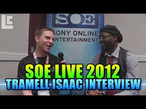 Tramell Ray Isaac - Senior Art Director - SOE Live 2012