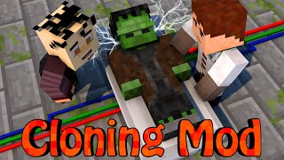 Minecraft Mods CLONE MOD Showcase (Frankenstein, Cloning