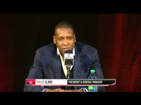 Kyle Lowry Press Conference  - Part 1 - 07/10/2014