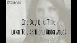 Brittany Underwood one day at a time