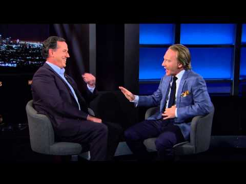 Real Time with Bill Maher: Rick Santorum – August 28, 2015 (HBO)
