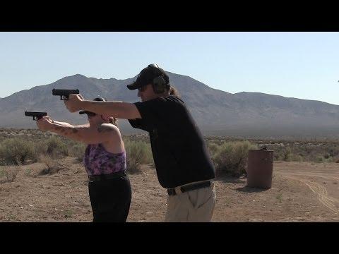 Gun Range Shooting Trip My Wife And 3 Glocks
