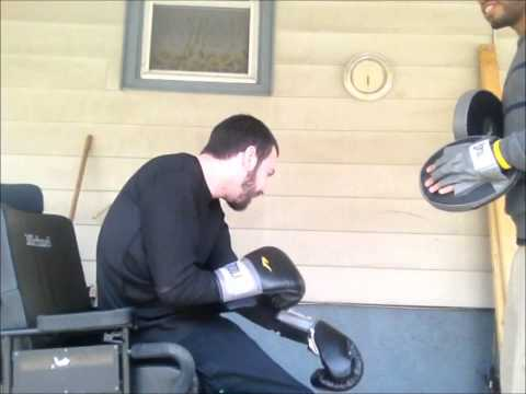 wheelchair boxing