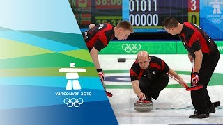 Canada Vs Norway Men's Curling Gold Medal Match
