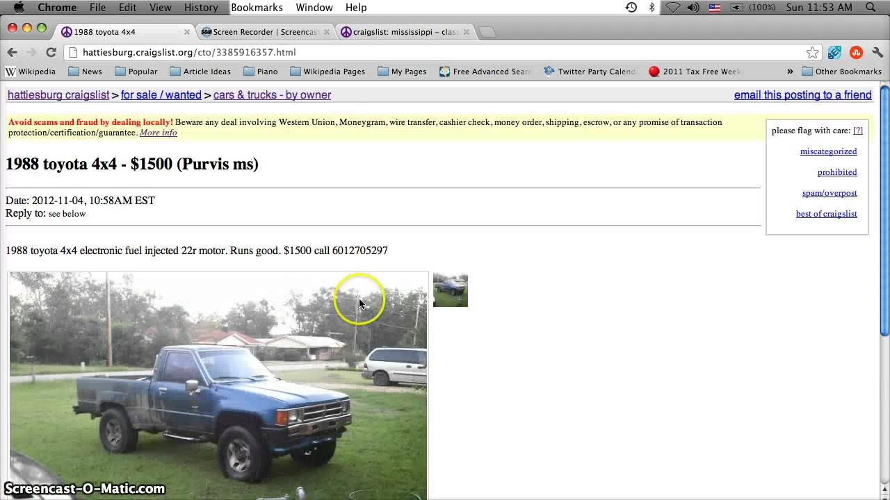 North Ms Cars Trucks Craigslist Autos Post