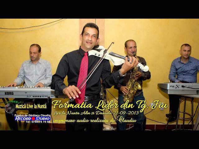 Formatia Lider din Tg. Jiu - Instrumentala Saxofon si Vioara LIVE la Nunta - Audio: Record Studio
