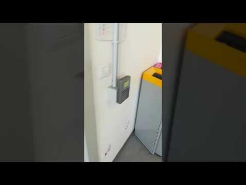 Anviz OC500 installato Milano zona Moscova applicazione di controllo accessi e rilevazione  presenze