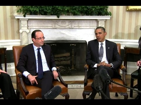 President Obama's Bilateral Meeting with President Francois Hollande of France