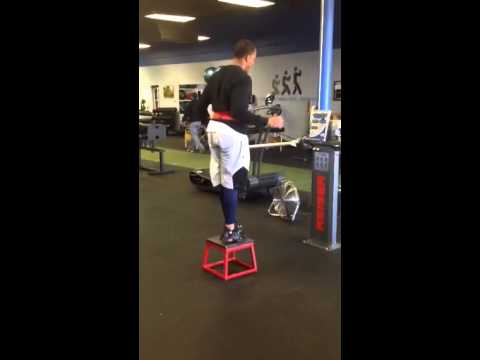 Chris Givens deceleration and stabilization exercise
