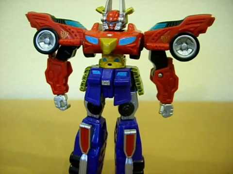 Power Rangers Super Legends Retrofire Megazord Review