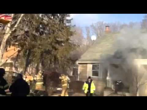 House fire in Calverton