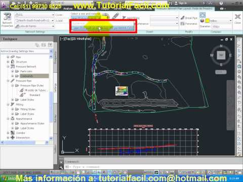 Tutorial Civil 3D, Manual Civil 3D, Curso Civil 3D