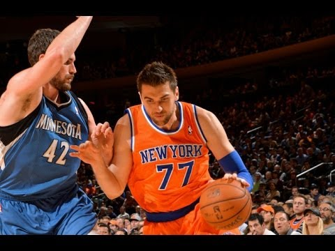 Andrea Bargnani - Minnesota Timberwolves @ New York Knicks (Nov 3, 2013)
