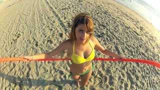 Người đẹp, nhạc hay - Hula Hoop in Venice Beach