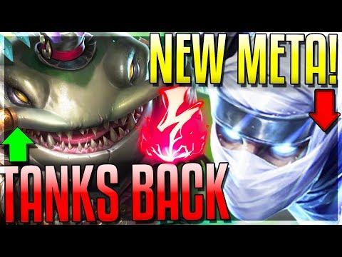 TANK META IS BACK!!!! HUGE Tank Buffs & Dmg NERFS - New 8.16 Changes - League of Legends