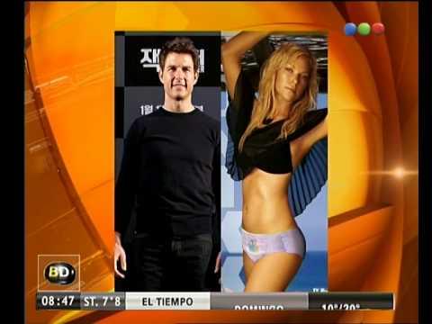 ¿Nueva novia de Tom Cruise? - Telefe Noticias