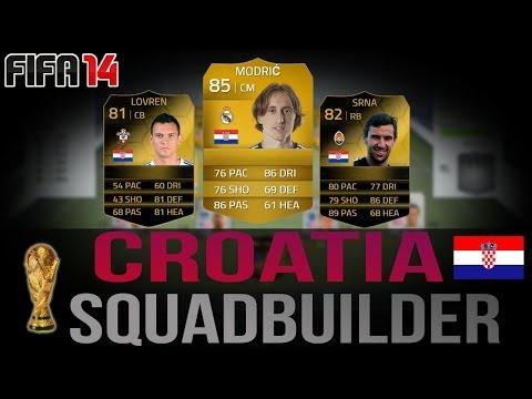 FIFA 14 | Croatia - World Cup Squadbuilder
