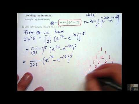 Complex numbers + trig identities