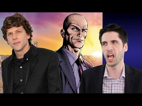 Jesse Eisenberg is Lex Luthor in Man of Steel 2!
