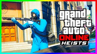 GTA 5 Online HEIST SETUP DETAILS How To Plan & Start