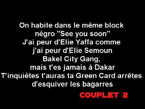 La Fouine - Autopsie 5 ,PAROLES