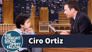 Jimmy Interviews 12-Year-Old Emotional Advice Kid Ciro Ortiz