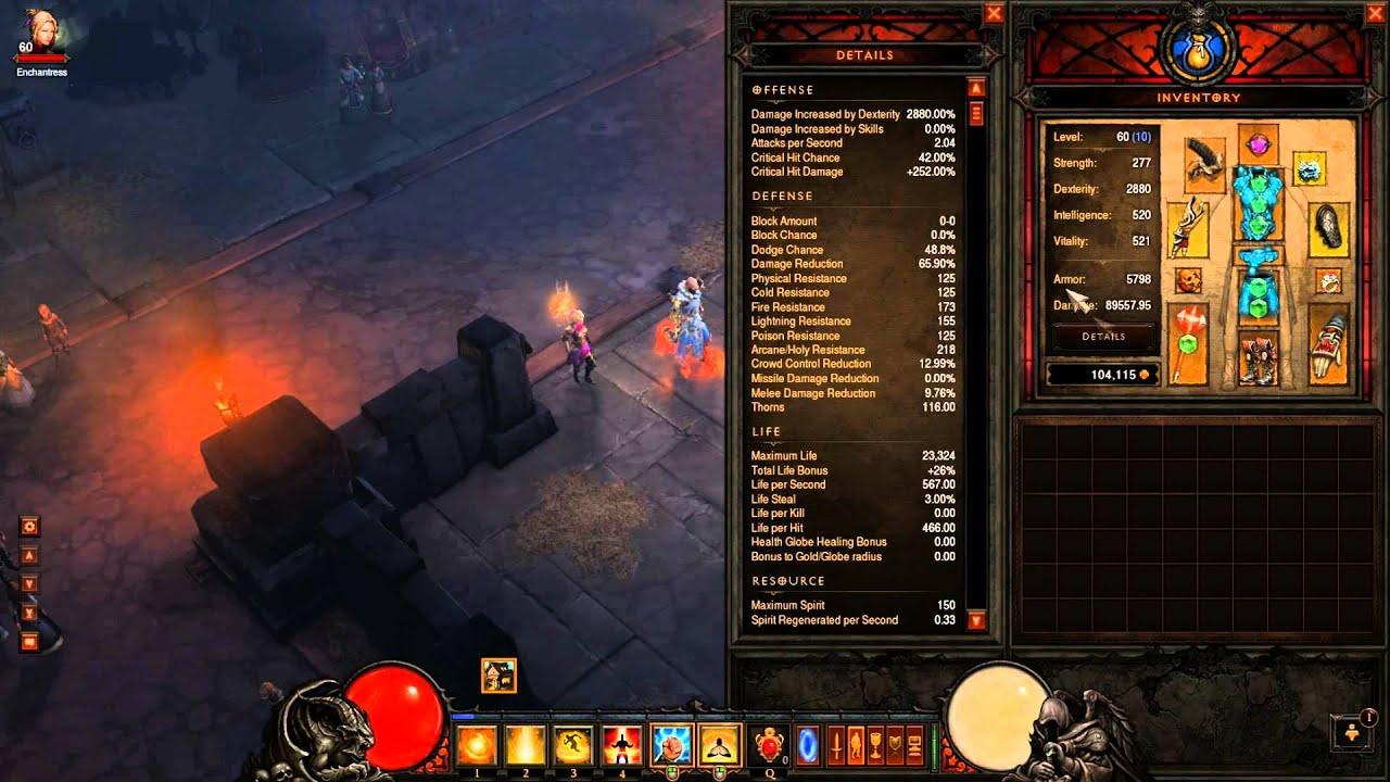 Diablo  Monk Build Paragon Leveling