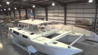 Ariki 48 Sailing Catamaran Build Update 16 December 2013