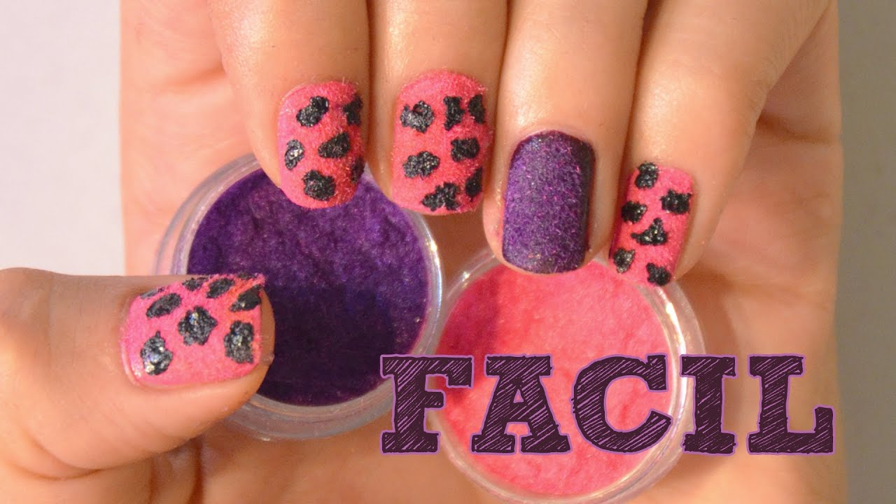 Uñas decoradas con esmalte♥!. - YouTube