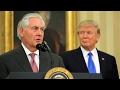 Rex Tillerson Sworn In as U.S. Secretary of State