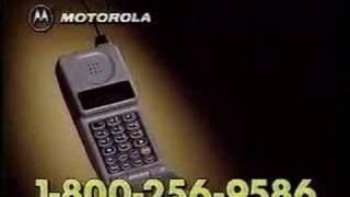 Early Motorola Flip Phone Commercial