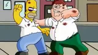 Família Da Pesada X Os Simpsons