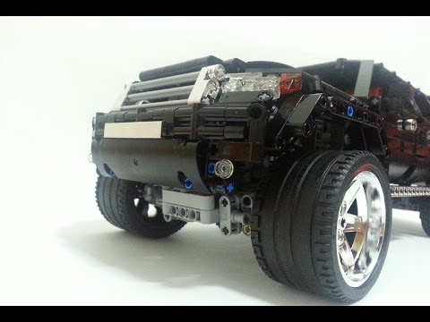 LEGO SUV MK2(by madoca1977) TIME-LAPSE BUILD with CHROME