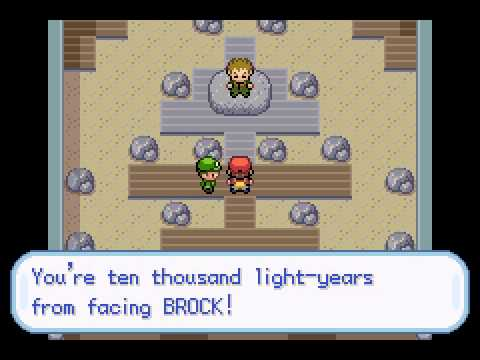 Pokemon Leaf Green - LeafGreen Ep 4 : Rival Blue Defeated & Brock Down! - User video