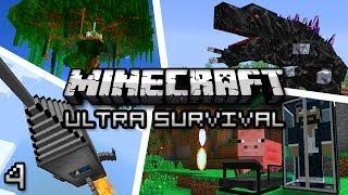 Minecraft: Ultra Modded Survival Ep. 4 - DAT AXE!