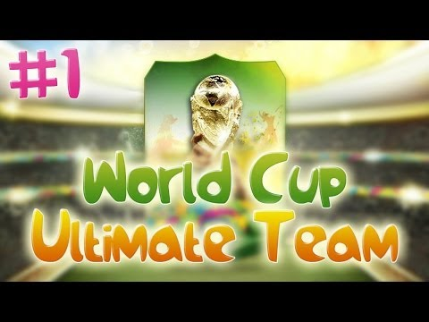 FIFA 14: World Cup Ultimate Team #1 - LUCKY START?!