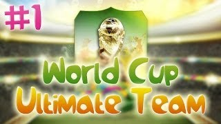FIFA 14: World Cup Ultimate Team #1 LUCKY START?!