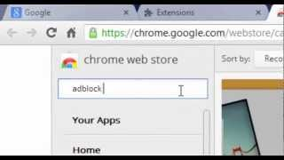 How To Get Rid OfAds- AndPop-Ups- On Google Chrome