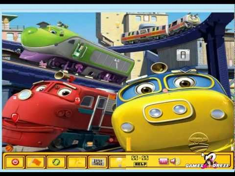 Tren oyunu ve oyunları oyna