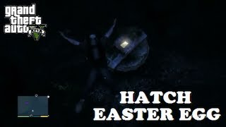Grand Theft Auto V (GTA V) - Hatch In The Ocean - LOST Easter Egg!