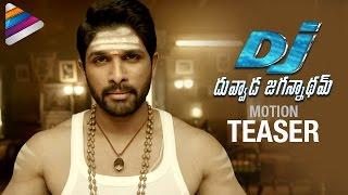 Motion teaser of Allu Arjun's Duvvada Jagannadham..