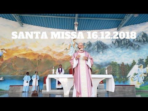 Santa Missa | 16.12.2018 | Padre José Sometti | ANSPAZ