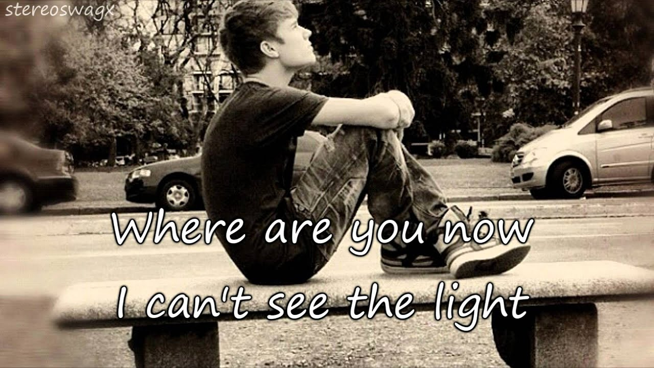 Where Are You Now - Justin Bieber - deeper voice - lyrics