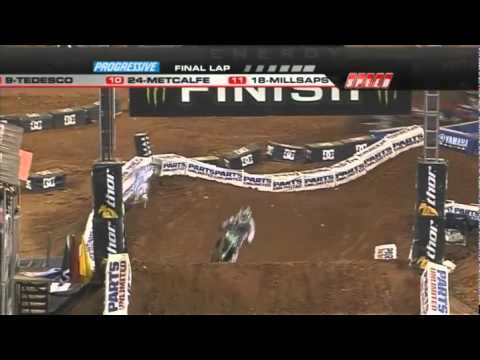 AMA Supercross 2011 RD8 Atlanta 450 Main Event 2/2
