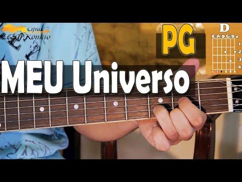 Aula de Violão Gospel - 4 acordes iniciantes Meu Universo PG