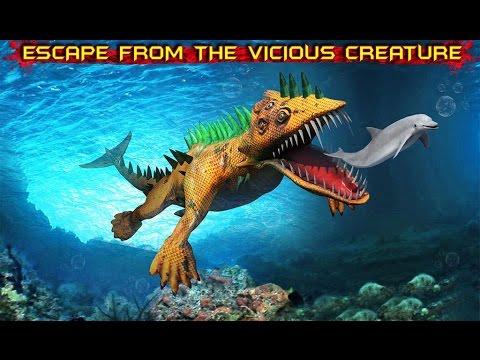 Trò chơi Quái Vật Biển Xanh ăn thịt cá mập cu ly choi game Ultimate Sea Monster