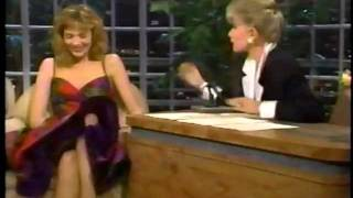 Kim Cattrall on Joan Rivers Show in 1987