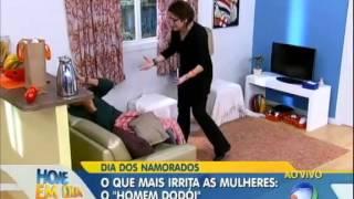 Dentinho e Dani Souza falam sobre casamento Hoje em Dia 12/06/2013 view on youtube.com tube online.