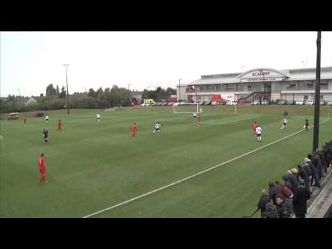 Liverpool 2-4 Fulham, Barclays U18 Premier League
