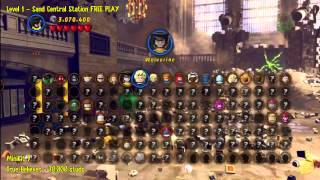 Lego Marvel Super Heroes: Level 1 Sand Central Station
